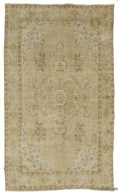 "Over-dyed Turkish Vintage Rug - 5' 10"" x 10'  (70 in. x 120 in.)"