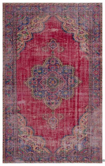 "Turkish Vintage Area Rug - 5' 10"" x 9' 3"" (70 in. x 111 in.)"