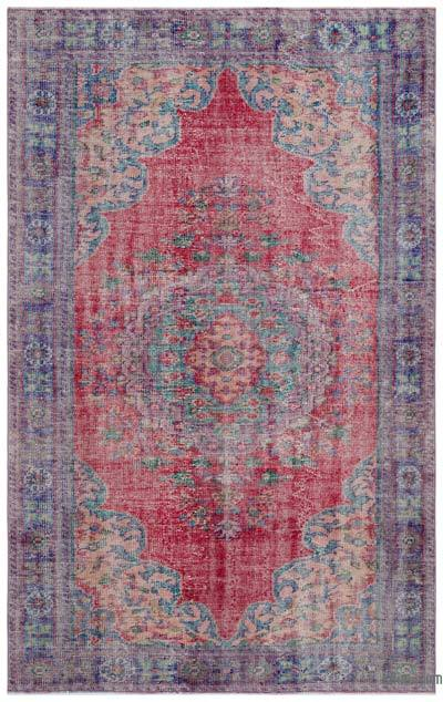 "Turkish Vintage Area Rug - 5'11"" x 9'6"" (71 in. x 114 in.)"