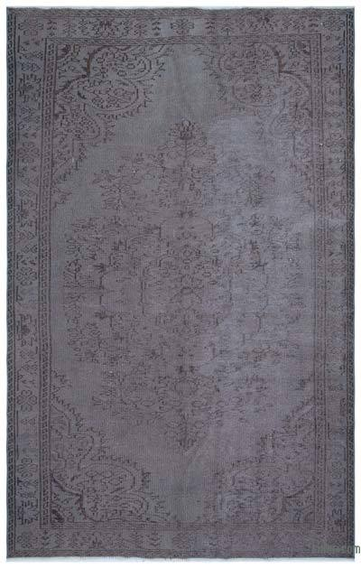 "Over-dyed Turkish Vintage Rug - 5' 6"" x 8' 8"" (66 in. x 104 in.)"