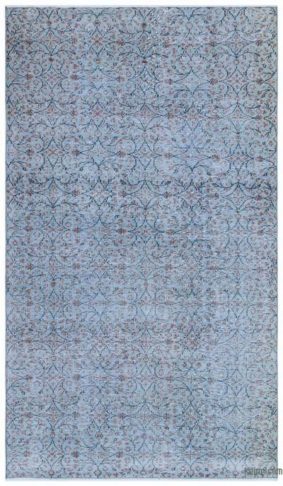 """Over-dyed Turkish Vintage Rug - 5'1"""" x 8'11"""" (61 in. x 107 in.)"""