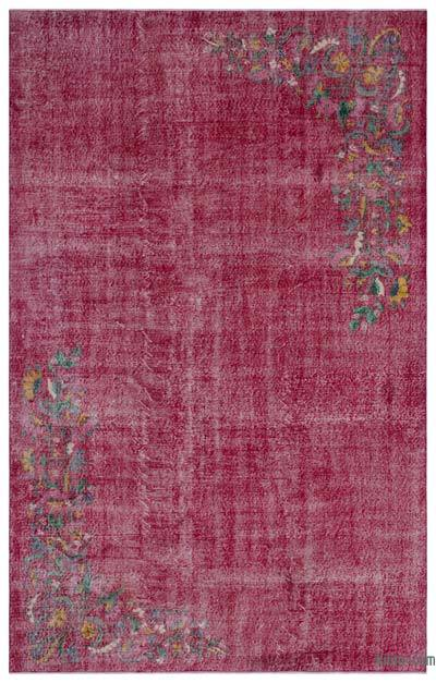 "Turkish Vintage Area Rug - 6' 11"" x 10' 10"" (83 in. x 130 in.)"