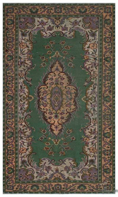 "Turkish Vintage Area Rug - 6' x 10'2"" (72 in. x 122 in.)"
