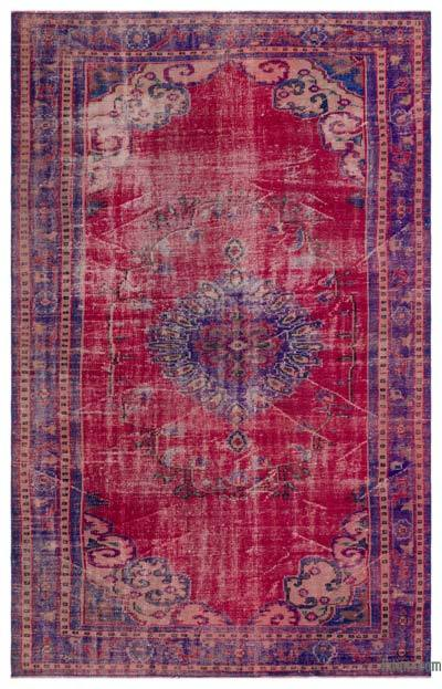 "Turkish Vintage Area Rug - 5' 9"" x 8' 11"" (69 in. x 107 in.)"