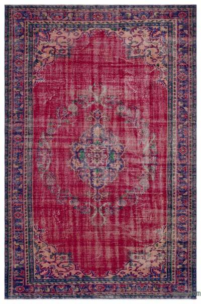 "Turkish Vintage Area Rug - 6' 4"" x 9' 9"" (76 in. x 117 in.)"