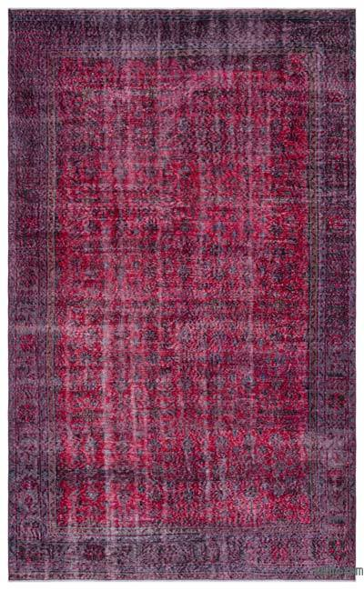 "Turkish Vintage Area Rug - 6'6"" x 10'8"" (78 in. x 128 in.)"