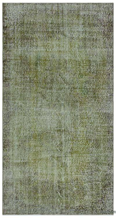 """Over-dyed Turkish Vintage Rug - 4'  x 7' 7"""" (48 in. x 91 in.)"""