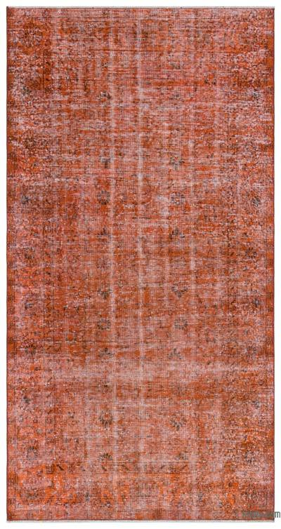 "Over-dyed Turkish Vintage Rug - 3' 8"" x 6' 11"" (44 in. x 83 in.)"