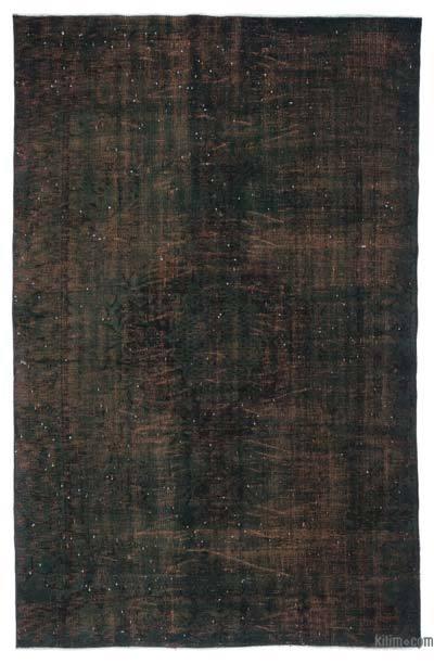 Alfombra Turca Vintage Sobre-teñida - 179 cm x 273 cm