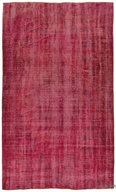 "Over-dyed Turkish Vintage Rug - 4'8"" x 7'8"" (56 in. x 92 in.)"