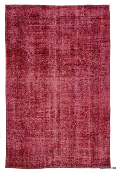 "Over-dyed Turkish Vintage Rug - 5' 7"" x 8' 7"" (67 in. x 103 in.)"