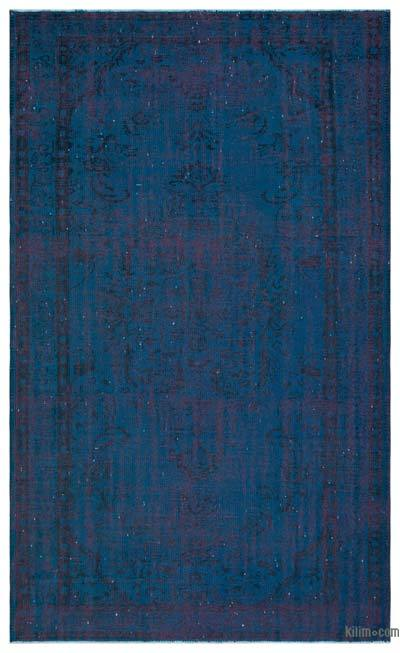 "Over-dyed Turkish Vintage Rug - 5' 3"" x 8' 9"" (63 in. x 105 in.)"