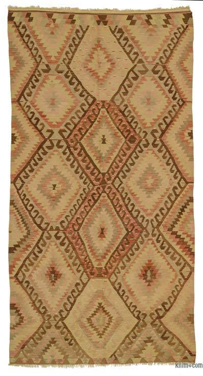 Vintage Ushak Kilim Rug