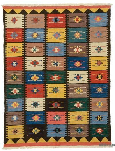 Multicolor New Handwoven Turkish Kilim Rug