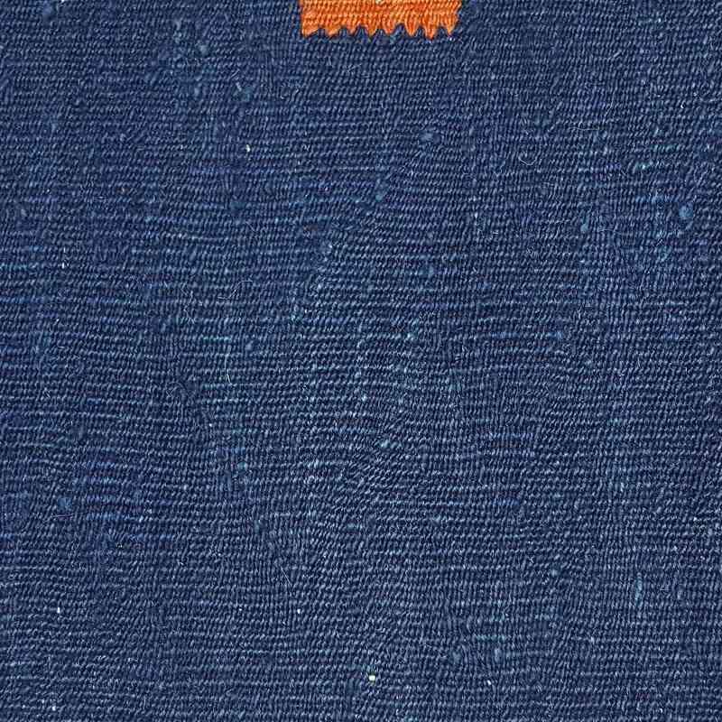 Blue New Turkish Kilim Runner - K0033134