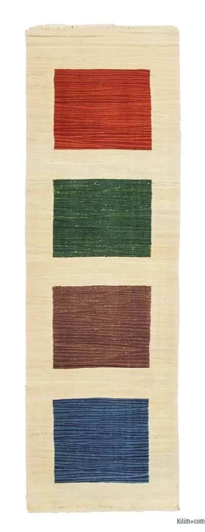 Yeni Kök Boya Yolluk Kilim - 74 cm x 229 cm