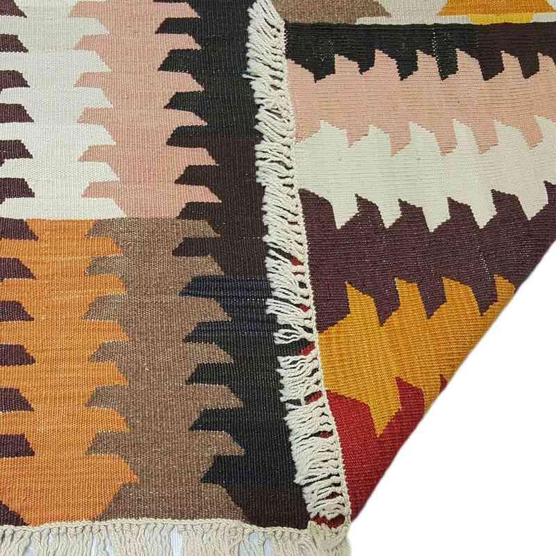 Multicolor Nueva Alfombra Turca Kilim - K0033154