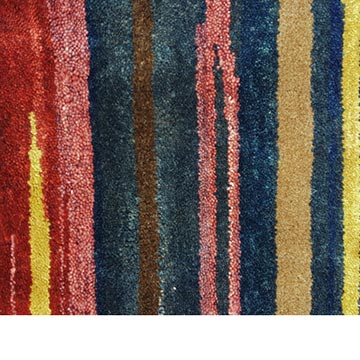 """Red, Blue New Turkish Pile Rug - 10'  x 14' 1"""" (120 in. x 169 in.) - K0033175"""