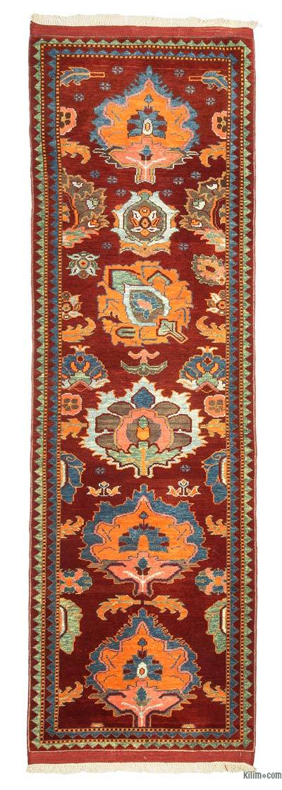 "New Turkish Pile Runner Rug - 2' 9"" x 8' 8"" (33 in. x 104 in.)"