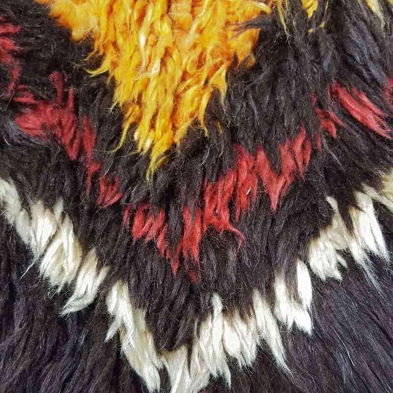Brown New Turkish Tulu Rug - K0033185