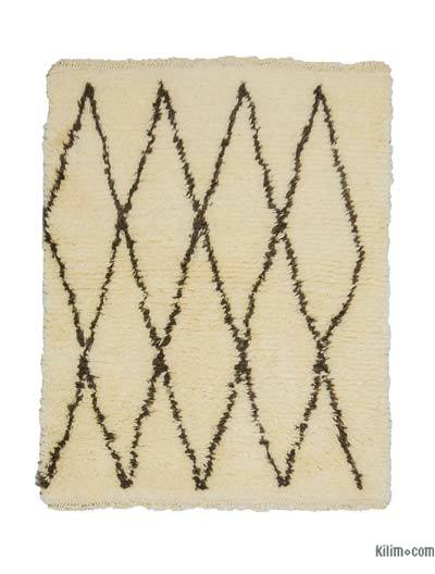 "New Turkish Tulu Rug - 3' 10"" x 4' 9"" (46 in. x 57 in.)"
