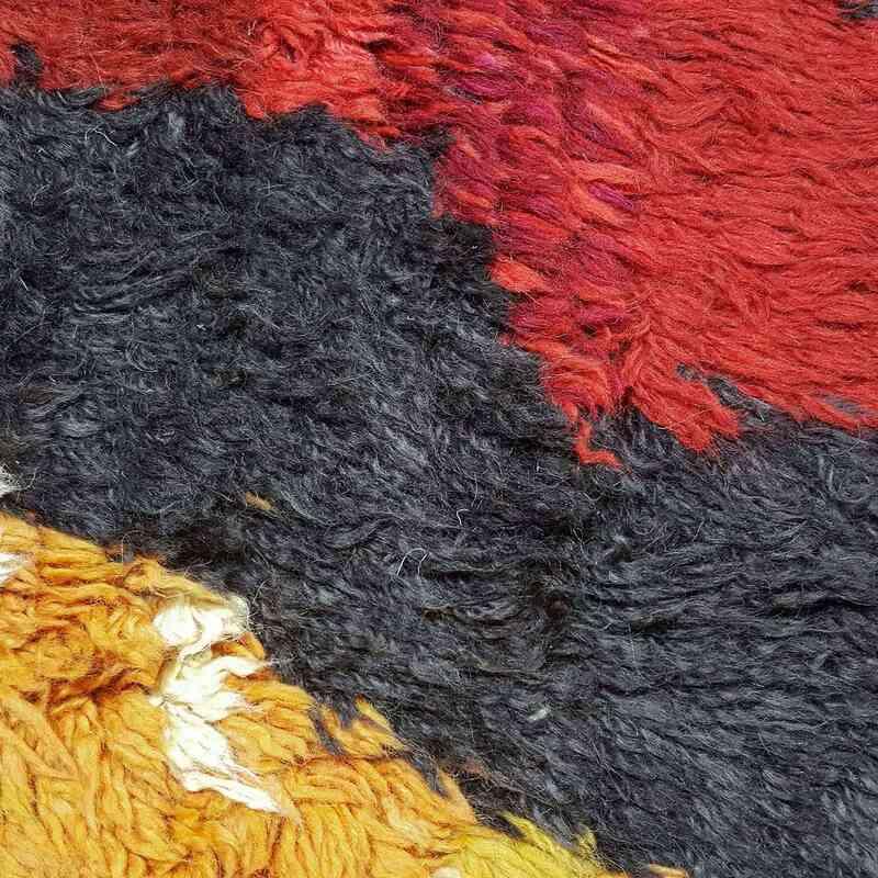 "Multicolor New Turkish Tulu Rug - 9' 1"" x 11' 10"" (109 in. x 142 in.) - K0033199"