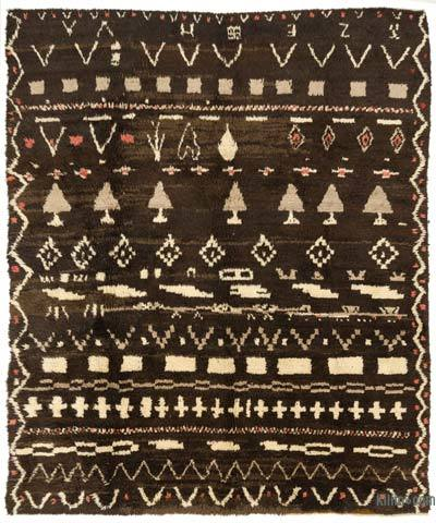 "New Turkish Tulu Rug - 8'2"" x 9'8"" (98 in. x 116 in.)"