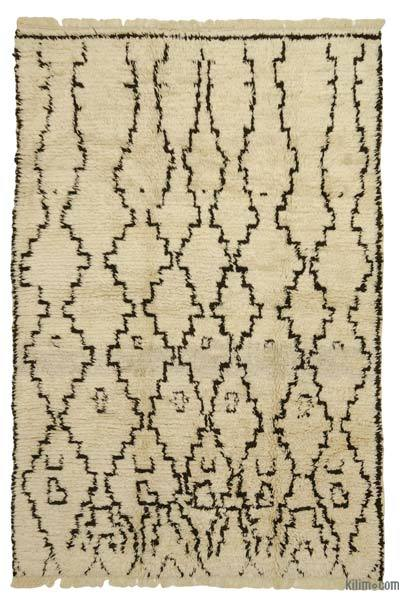 "New Turkish Tulu Rug - 6' 1"" x 9' 2"" (73 in. x 110 in.)"