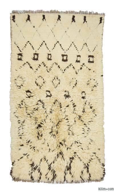 "New Turkish Tulu Rug - 4'  x 7' 3"" (48 in. x 87 in.)"