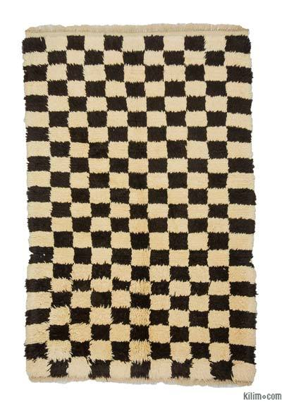 "New Turkish Tulu Rug - 4' 4"" x 6' 4"" (52 in. x 76 in.)"