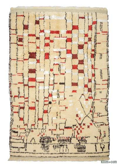 "New Turkish Tulu Rug - 6'  x 8' 10"" (72 in. x 106 in.)"