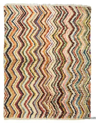 "New Turkish Tulu Rug - 5' 10"" x 7' 5"" (70 in. x 89 in.)"