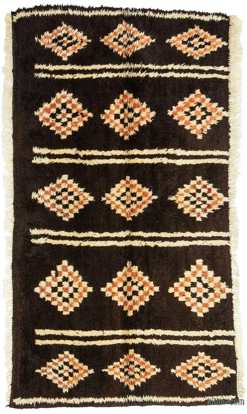 Brown New Turkish Tulu Rug - K0033222