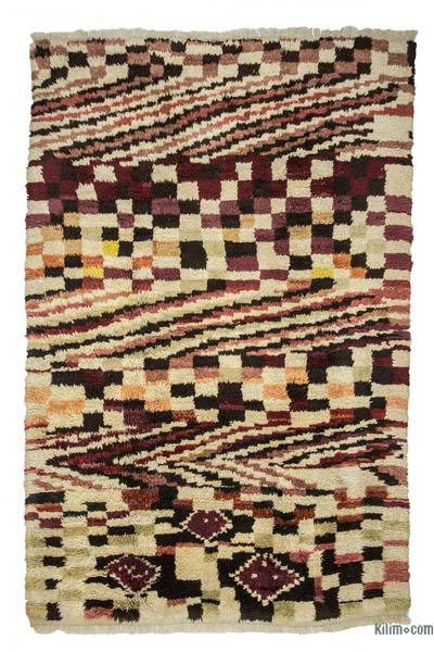 "New Turkish Tulu Rug - 6'8"" x 9'10"" (80 in. x 118 in.)"