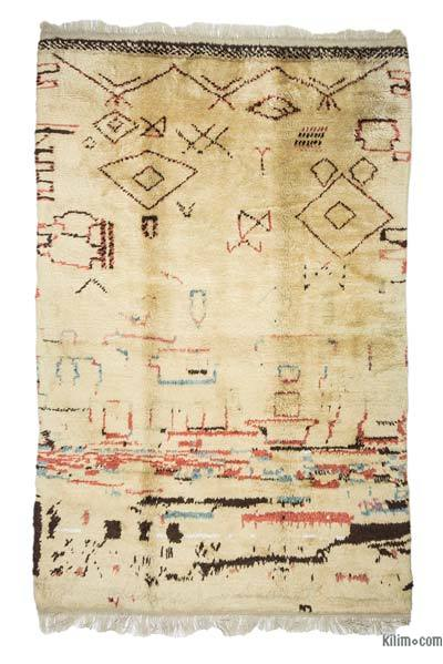 New Turkish Tulu Rug - 6'  x 9'  (72 in. x 108 in.)