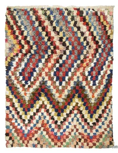 "New Turkish Tulu Rug - 6'9"" x 8'8"" (81 in. x 104 in.)"