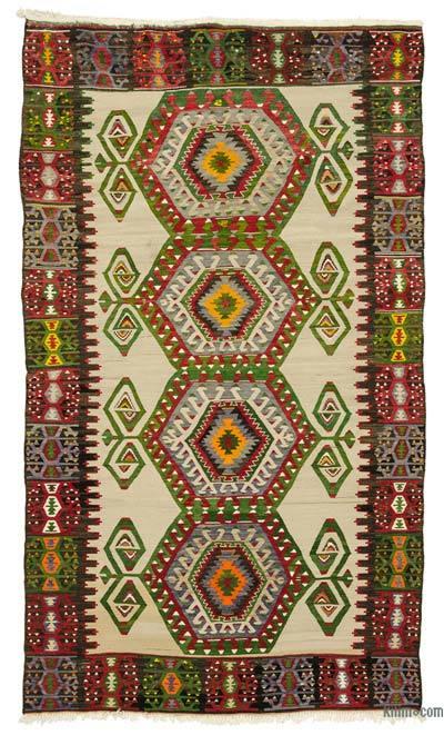 Vintage Aydin Kilim Rug
