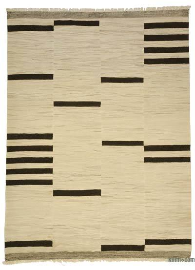 "New Handwoven Turkish Kilim Rug - 7' 9"" x 10' 4"" (93 in. x 124 in.)"