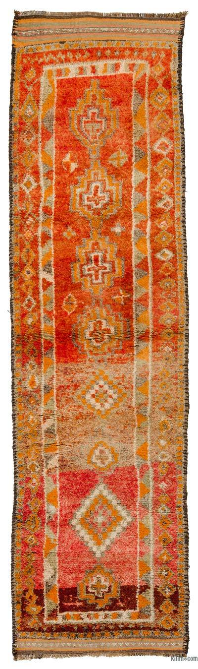 "Vintage Turkish Runner - 3' 1"" x 11' 1"" (37 in. x 133 in.)"