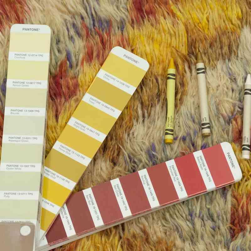 Multicolor Vintage Anatolian Tulu Rug - 4'  x 8' 10# (48 in. x 106 in.) - K0033613