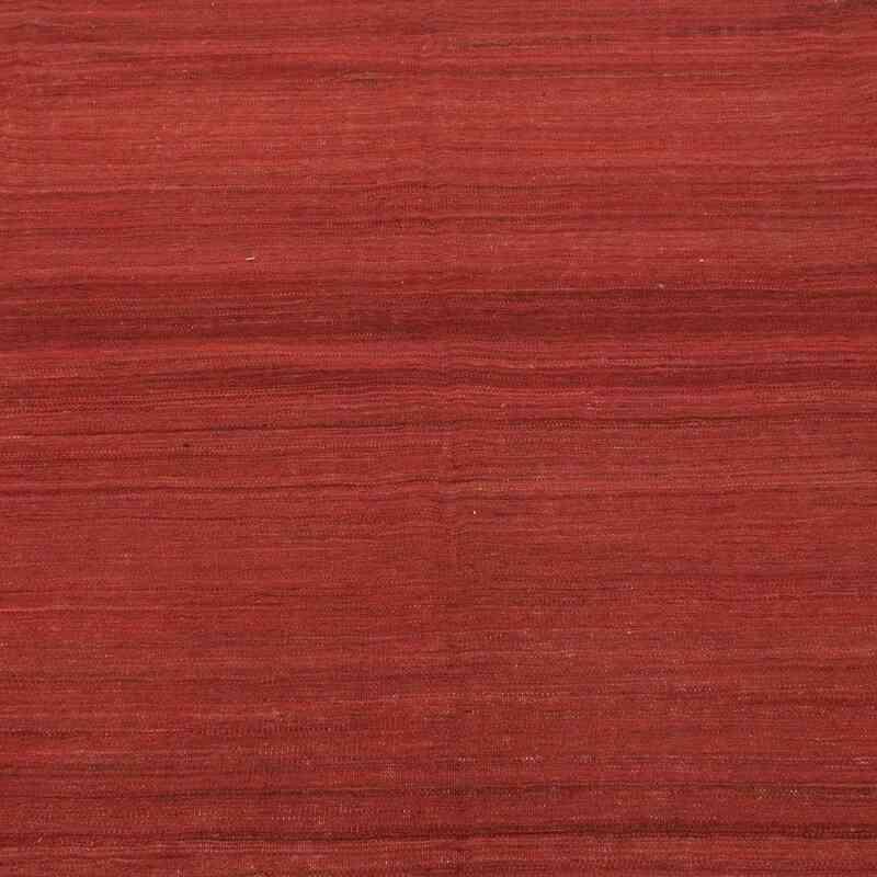 Kırmızı Yeni Kök Boya El Dokuma Kilim - 278 cm x 338 cm - K0033620