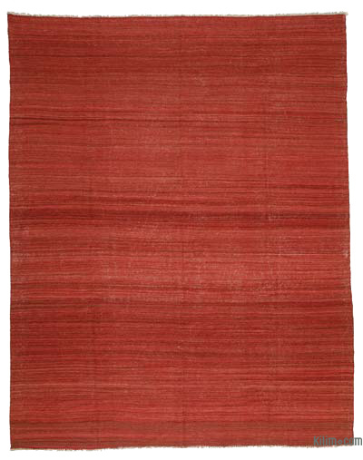 "New Turkish Kilim Rug  - 9' 1"" x 11' 1"" (109 in. x 133 in.)"