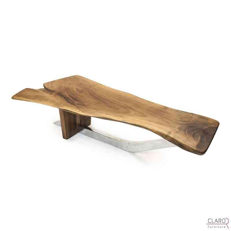 Walnut Slab Coffee Table - K0033812