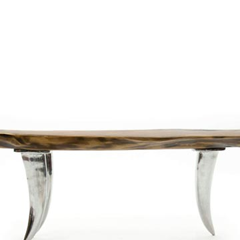 Walnut Slab Coffee Table - K0033815