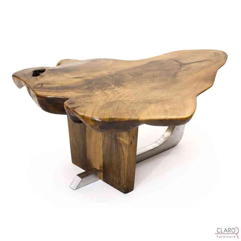 Walnut Slab Coffee Table - K0033829