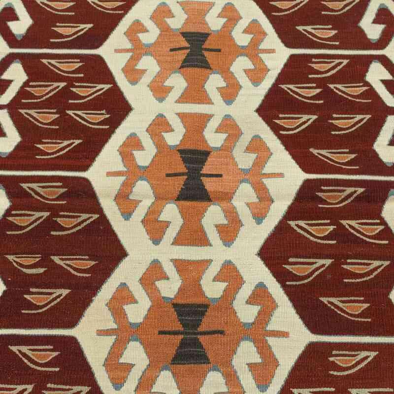 Multicolor New Handwoven Turkish Kilim Rug - K0033833