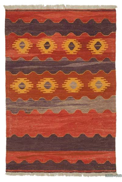"New Turkish Kilim Rug - 3' 1"" x 4' 6"" (37 in. x 54 in.)"