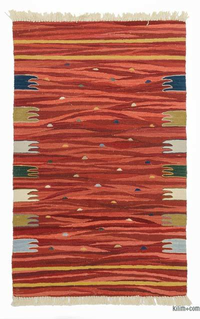 "New Handwoven Turkish Kilim Rug - 2' 6"" x 4'  (30 in. x 48 in.)"