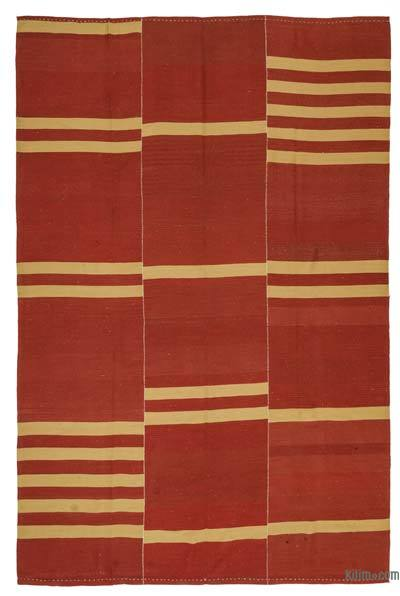 "New Handwoven Turkish Kilim Rug - 8' 3"" x 12' 8"" (99 in. x 152 in.)"