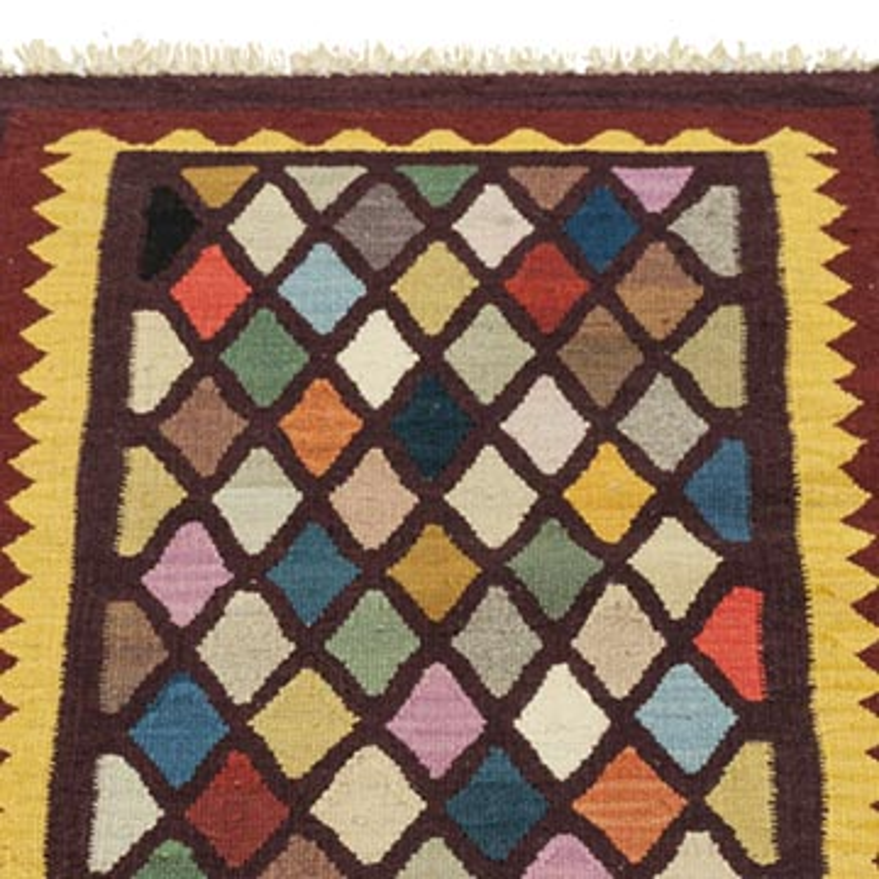Multicolor New Handwoven Turkish Kilim Rug - K0033852